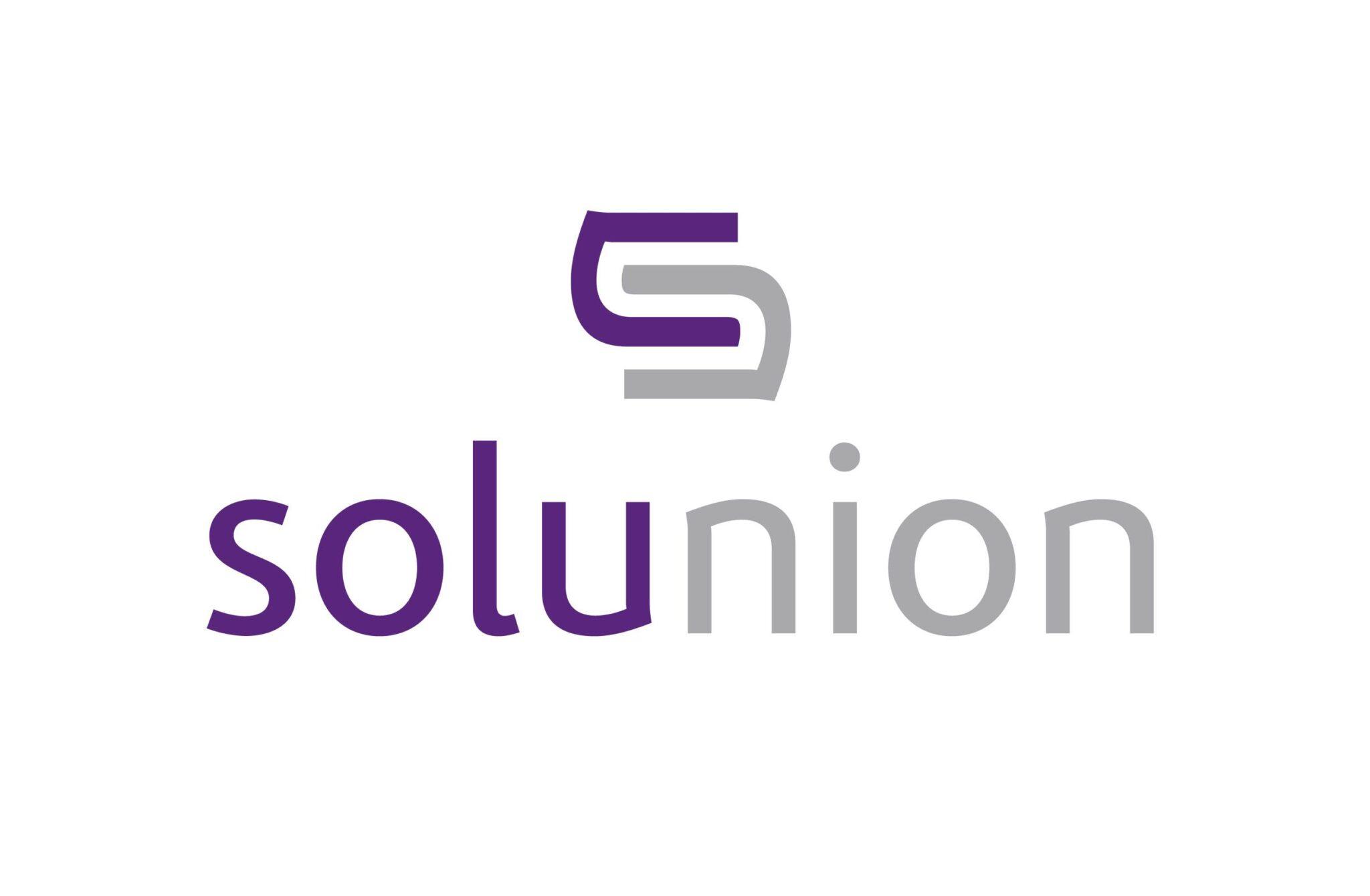 Logo Solunion Blanco II